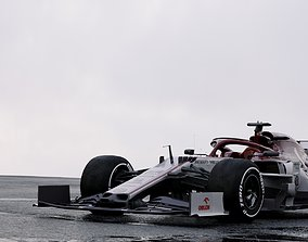 3D F1 Alpha Romeo C39 2020 car