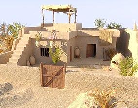 Ancient Egyptian House 3D PBR