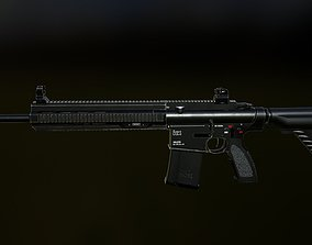 HK 417 3D asset