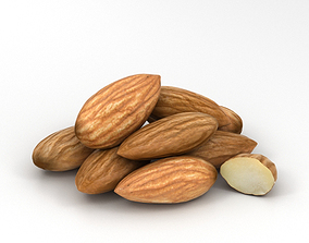 Almond 3D model