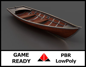 3D model Rowboat