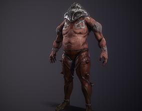 Gladiator character Juggernaut 3D model