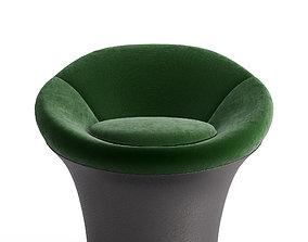 3D Mushroom lounge armchair