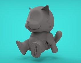 3D print model Cat sitting