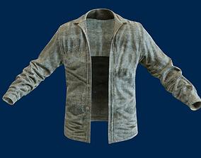 3D asset Jean jacket