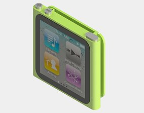 iPod nano 6 3D printable model