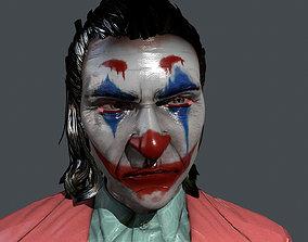 3D model joker character pbr