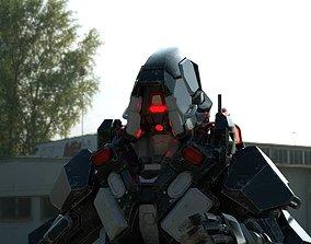 rigged Reaper 3D model