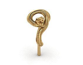 3D printable model Ring 38 Snake