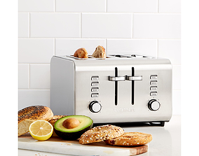 3D model Toaster cuisinart
