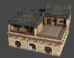 Ancient Chinese houses Buildings 3D model