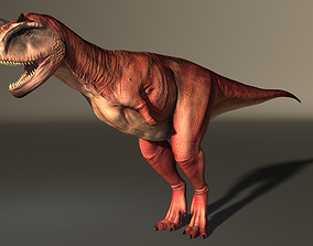 Carnotaurus High Poly 3D