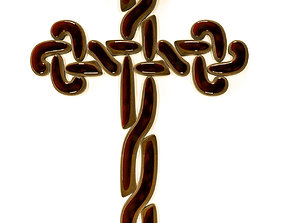 armenia Jewelry cross 3D print model