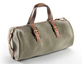Canvas Holdall Bag 3D model