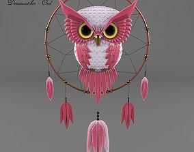 3D model Dreamcatcher - Owl