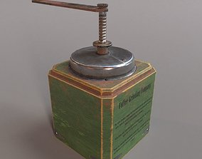 3D model PBR Vintage Coffee Grinder