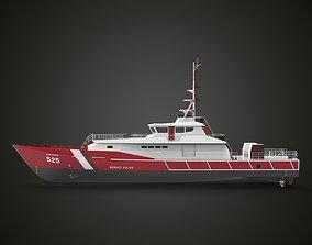 3D model Fast Patrol Boat 30 Meters