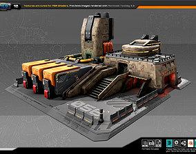 RTS Factory - 10 3D asset