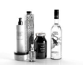Caldo Cosmetics and Black Vodka 3D