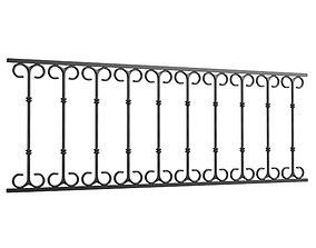 Classic railings 3D