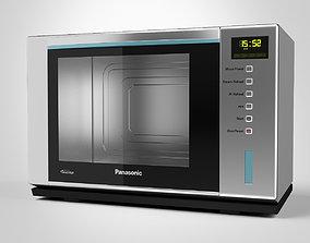 3D model Panasonic Microwave Steam Oven