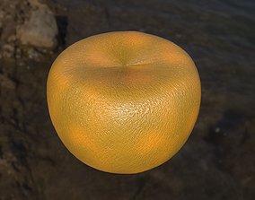 Fresh juicy tangerine 3D model