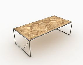 3D vintage Dining Table