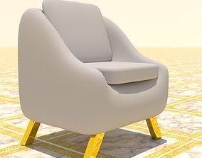 3D asset Arm chair