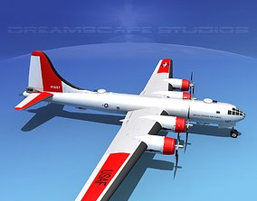 3D model Boeing B-29 Superfortress Rescue