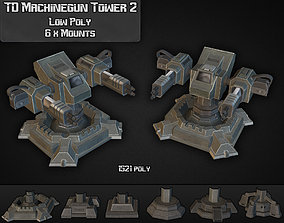 TD Machinegun Tower 02 3D model