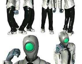 D4VE Robot 3D model