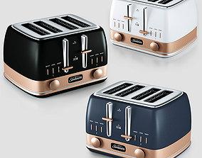 3D model sunbeam classic bronze toaster