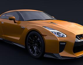 Nissan GTR R35 3D model