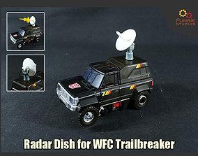 3D printable model Radar Dish for Transformers WFC 1