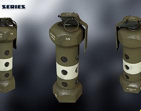 3D model Flashbang M84 -Custom