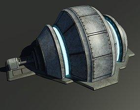 Sci-Fi Generator 3D asset