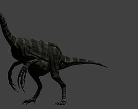 3D asset Therizinosaurus