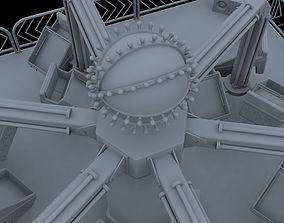 3D model Typhoon Carnival Ride Project