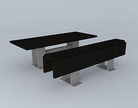 3D model Folding Dining Tables