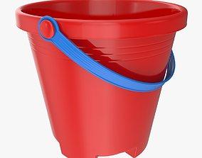 3D asset Toy Bucket