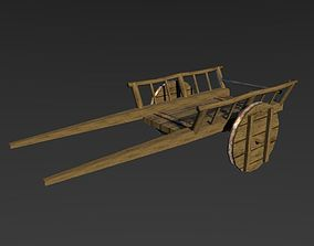 3D model Medieval Carriage