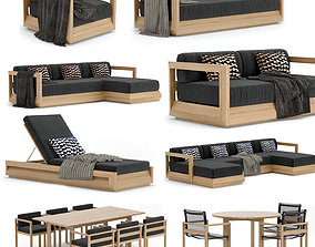 3D model RH Outdoor Paloma Collection