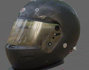 Bell HP-7 Helmet 3D model