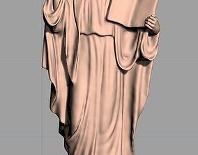 Christianity Jesus Christ standing 3D printable model 1