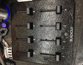 3D print model DMX controller enclosure 8 channels