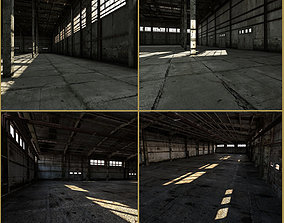 2 in 1 Old industrial interiors 3D