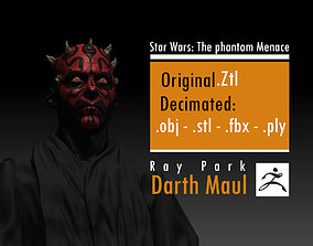 Ray Park - Darth Maul - Star Wars 3D print model