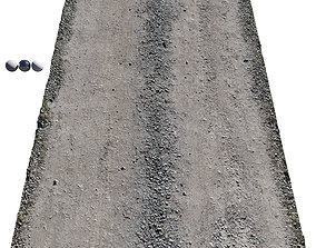 Ultra realistic Sandy Road Scan texture 3D model