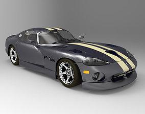 Dodge Viper Lightwave Studio Max 3D model
