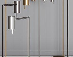 VeniceM Rectus Floor Lamps 3D model